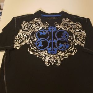 Coogi mens xl embroidered graphic t shirt